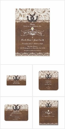 Rustic Horseshoes & Lace Country Western Wedding