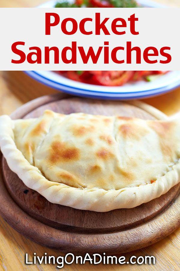 Homemade Hot Pocket Sandwiches Recipe
