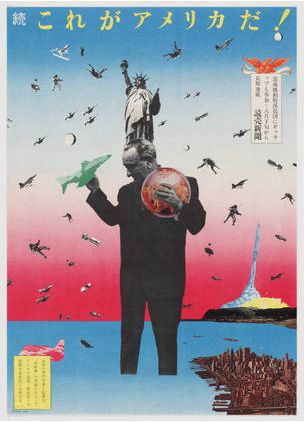 Tadanori Yokoo - This is America, 1968