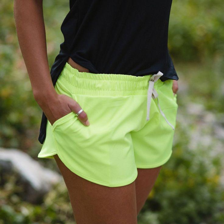 Electric Green Sprinter Shorts