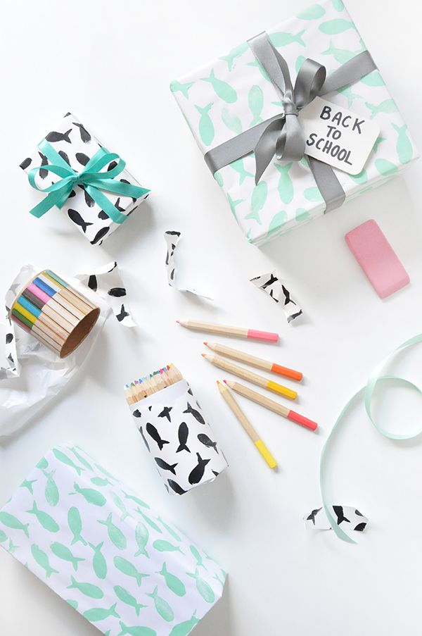 Back To School Wrapping Paper!