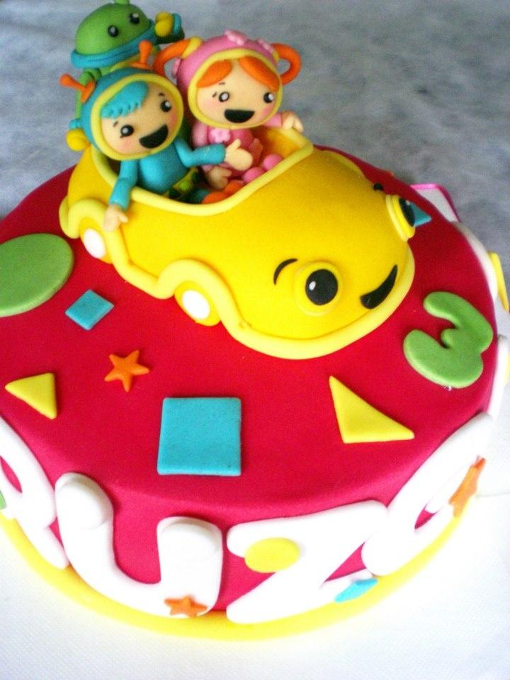 Umizoomi Birthday Cake By Bilge Sahin Party Time