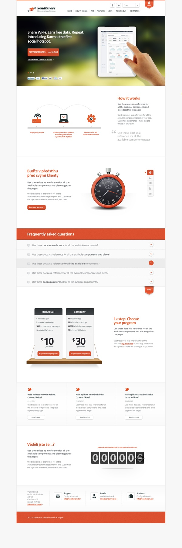 http://launch.senderrors.to | by Martin Rus, via #Behance #webdesign