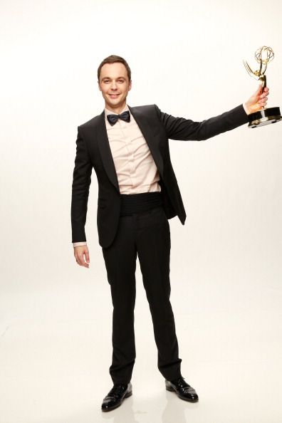 Jim Parsons at the 2013 Emmys. Styled by Annie Psaltiras.