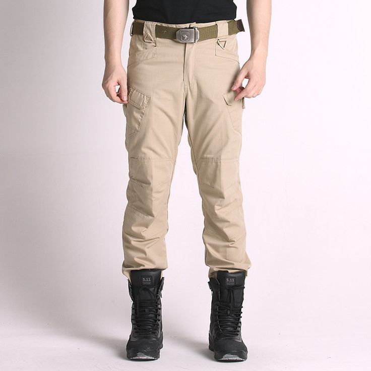 Men's Army Combat Military Sport Outdoor Training Long Trousers Trekking Climbing Pants