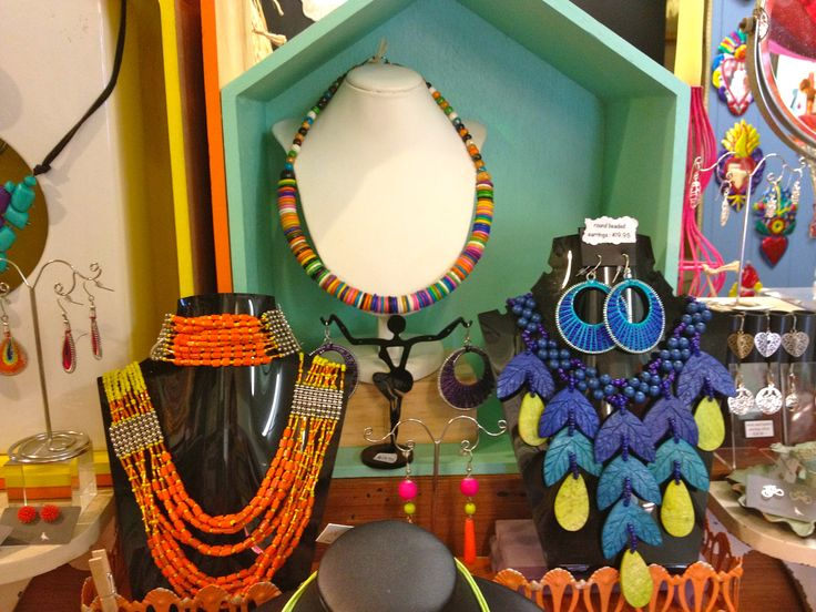 Colourful necklaces - brighten up your day!