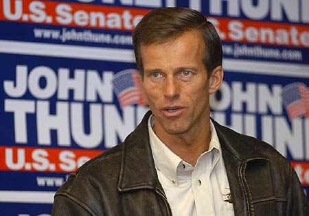 john thune | John Thune will not run in 2012