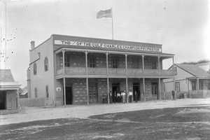 Charles Champion Building, Port Isabel, Texas old photos.
