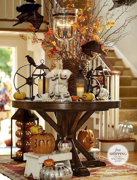 pottery barn halloween - Pottery Barn Halloween Decor
