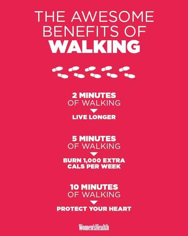 3 Surprising Benefits Of Walking Just 10 Minutes A Day  http://www.prevention.com/fitness/health-benefits-of-walking-for-just-10-minutes-a-day?cid=OB-_-PVN-_-SSF