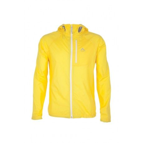 K-Way's Arc is a lightweight active shell jacket made from 100% polyester. Windproof, vapour permeable and finished with a water repellent coating, the jacket is ideal for carrying with you on hikes. Elasticated cuffs and an adjustable hem provide a secure and comfortable fit, while reflective logos ensure visibility at night.