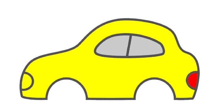 Картинка грузовой машины без колес
