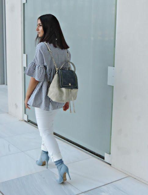 White Jeans - Study About Fashion - by Alexandra Alexandridou