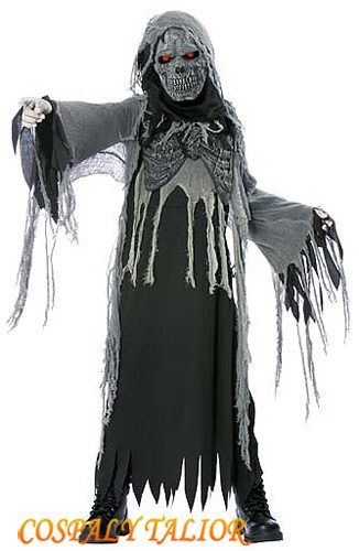 Best Scary Halloween Costumes | Scary Halloween Costumes - Boy's Child Reaper Costume(MR214628)