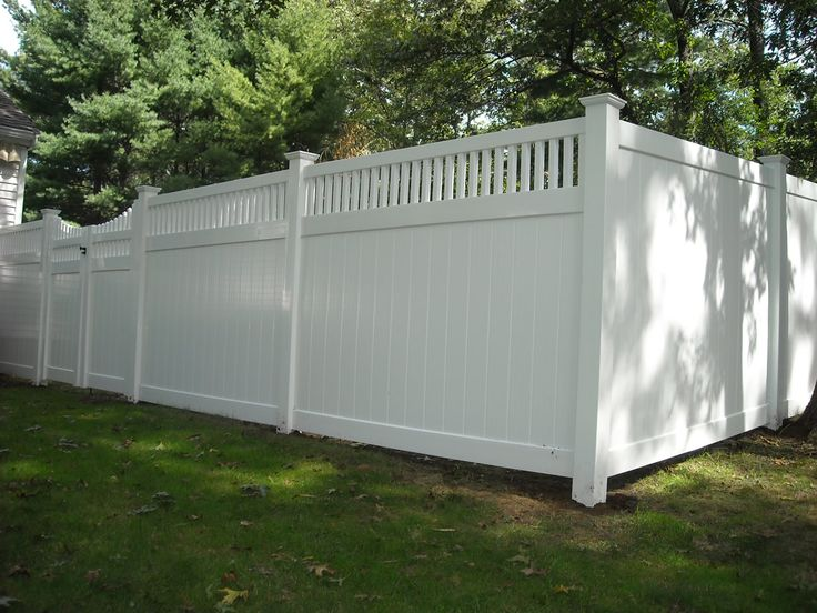 Vinyl Fence With Lattice Top Woodworking Projects Amp Plans