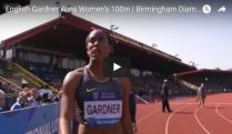 English Gardner Wins Women's 100m | Birmingham Diamond League 2016