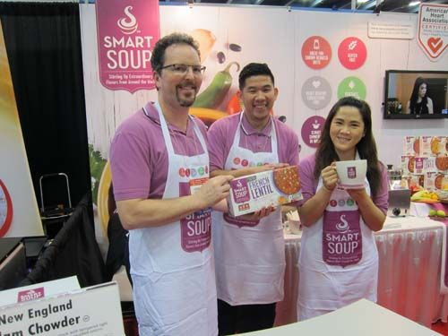 [Day 3] Final shot of the Smart Soup team at the #WFFS15 #WinterFancyFoodShow2015 Thanks for everything! #SmartSoup