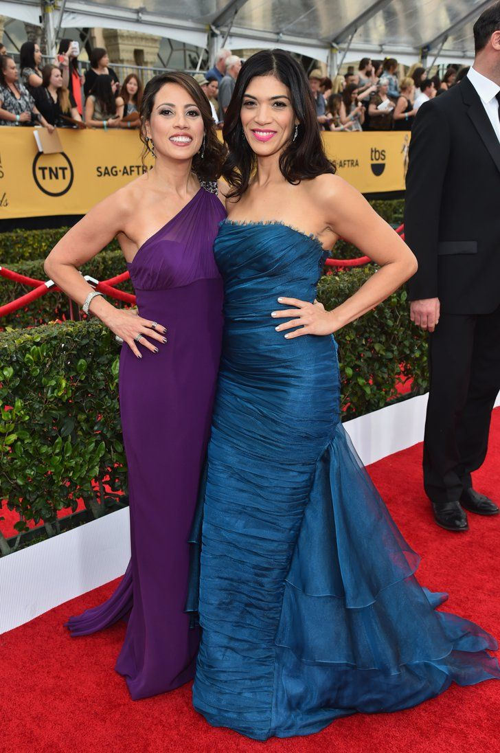 Pin for Later: Orange Is the New Black's Blanca Is a Babe IRL and It's Time We Praise Her  And hanging out with costar Elizabeth Rodriguez.