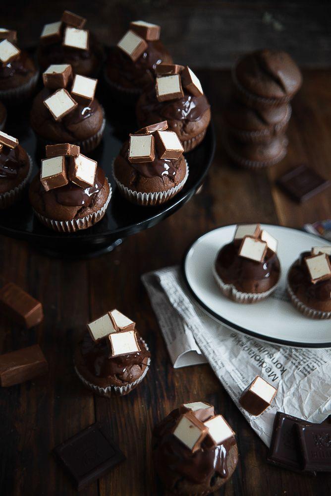 picante-jalapeno.blogspot.com: Czekoladowe muffinki z ptasim mleczkiem