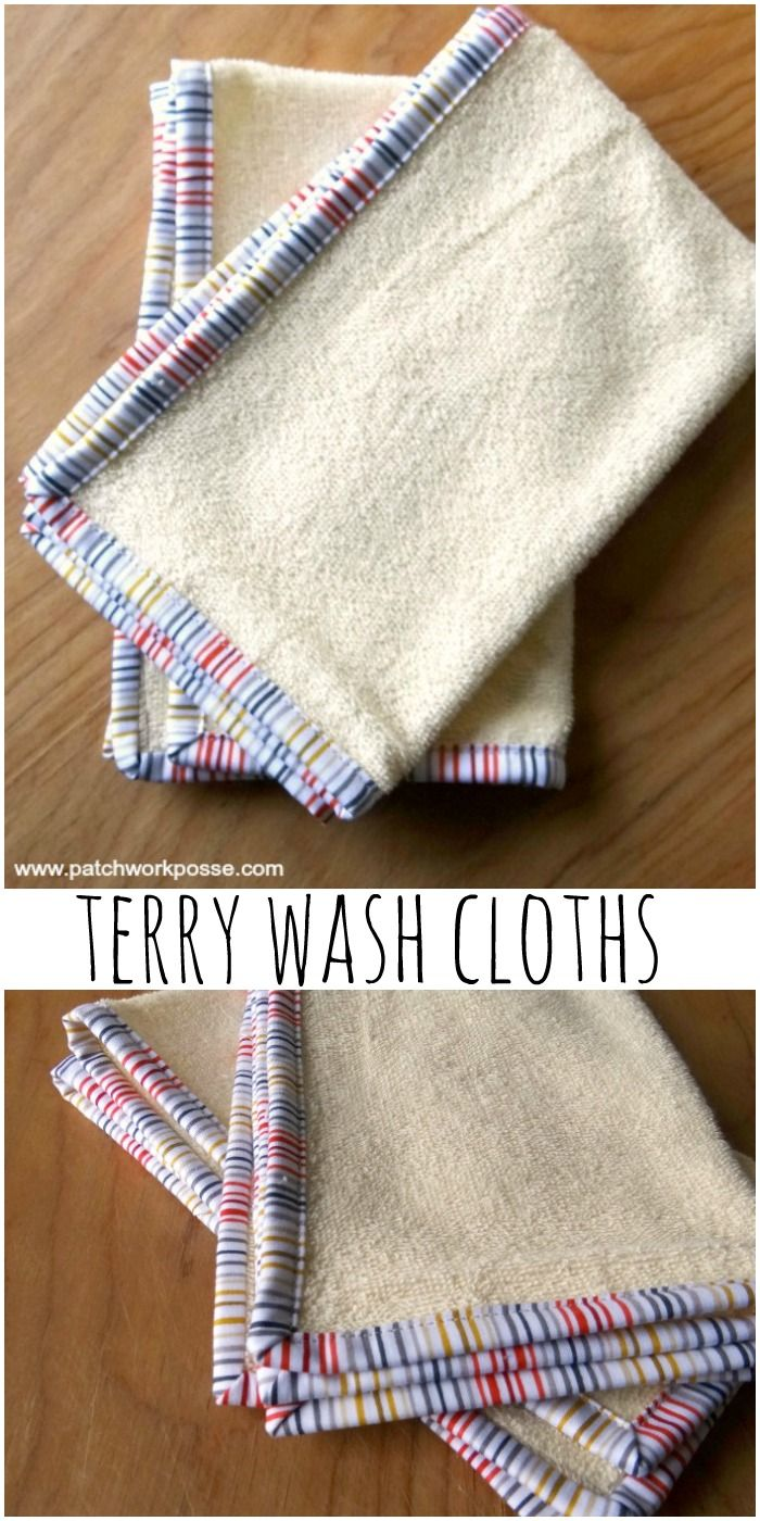 Cotton Fingertip Towels Tutorial Video tutorial to help even more. Super simple project- great to make for baby presents.