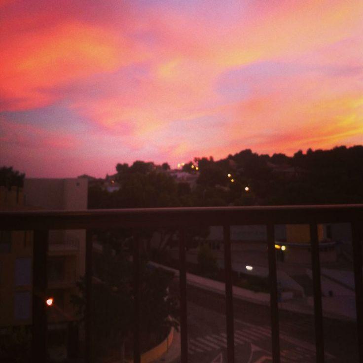 Sky in Palma at night