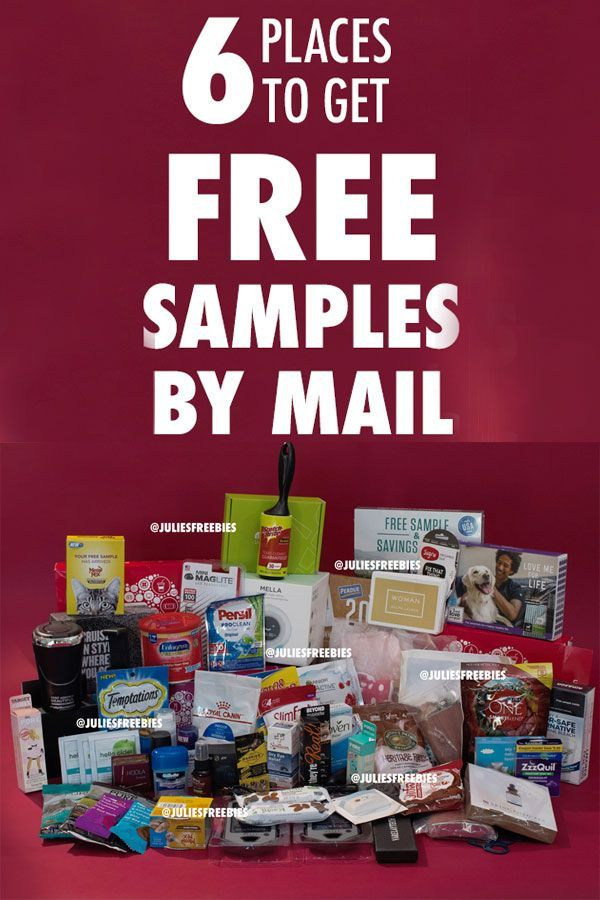 free samples by mail no surveys free shipping