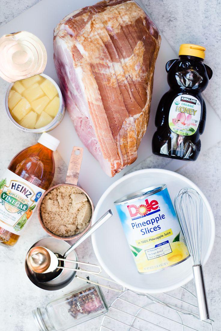 Pressure Cooker Ham | pressure cooker recipes | instant pot recipes | easy ham recipes | whole ham recipes | pineapple glazed ham | holiday ham recipes || Oh So Delicioso #hamrecipes #holidayham #instantpotham