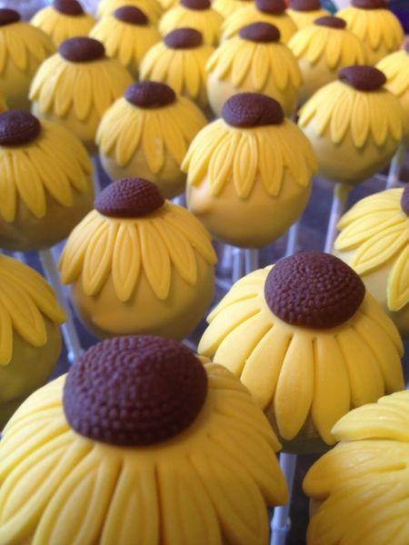 sunflower-cake-pops                                                                                                                                                      More
