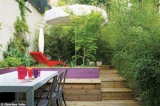 1000 id es sur le th me coffre jardin sur pinterest deco terrasse terrasses et plantes - Amenagement petit jardin bambou calais ...