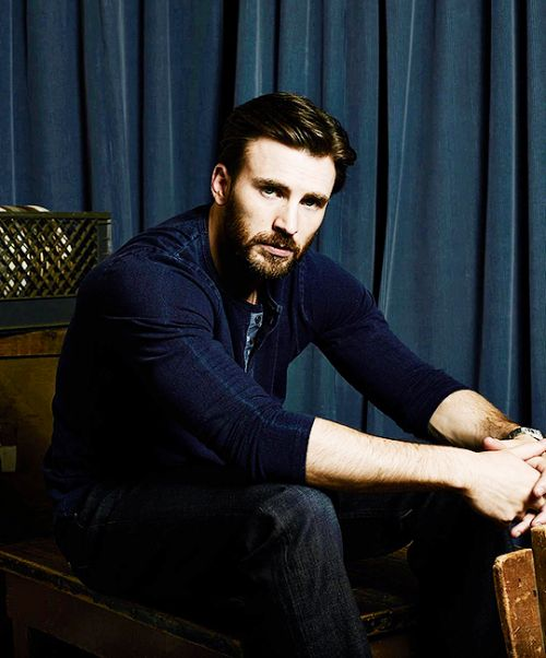 "esakvaltersen:  "" ""one year of chris evans  ""  ↪ day 334: photographed by danielle levitt for variety magazine, 2014  """