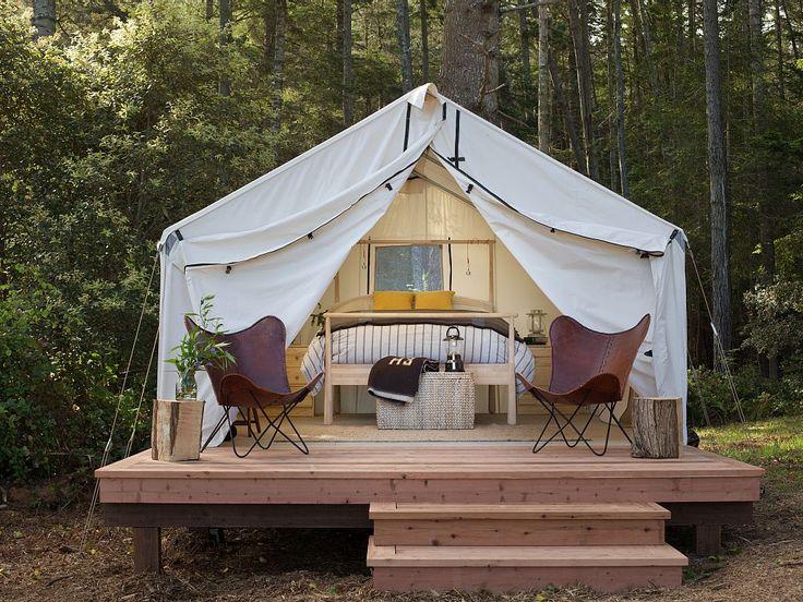 Modern Camping - Mendocino