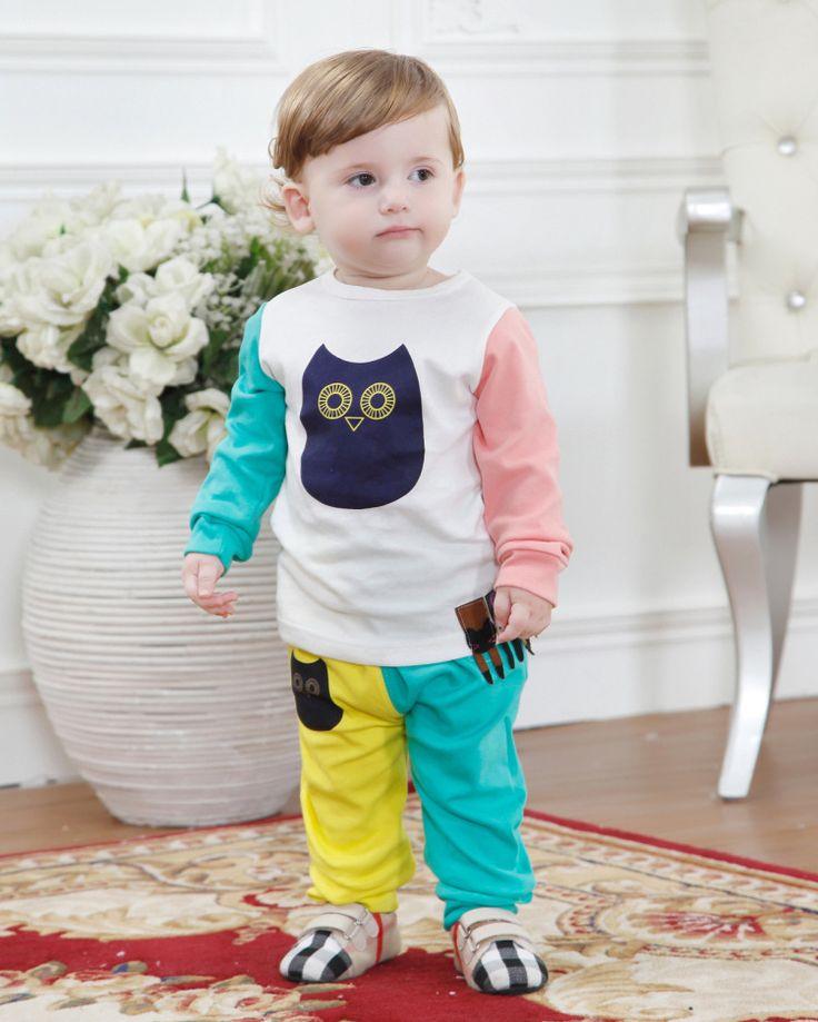 Ucuz 2016 Bahar Moda Çocuk Giyim Seti Ceket Ve Pantolon Dahil Sevimli Baykuş Bebek Erkek Kız Giyim Setleri Yeni Varış 2 10Y, Satın Kalite giyim setleri doğrudan Çin Tedarikçilerden: sıcak satışId: 3311çocuklar batman giyim seti ceket ve pantolon sıcak giysiler bebek erkek kız batman giysileri 2015 son