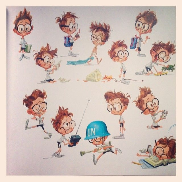 Peabody and Sherman Character Clip Art