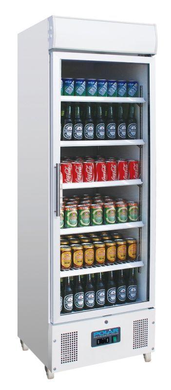 Hmmmm, this fridge is also looking lovely: Polar DM076 Glass Door Display Fridges (Upright)
