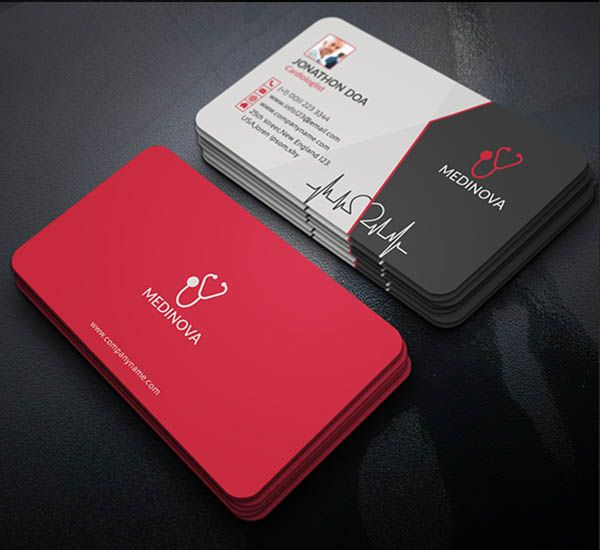 26 best Designs Of Medical Business Cards For Doctors images on - business card template for doctors