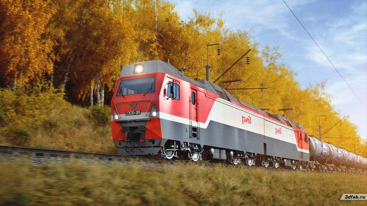 3DFAB. Modeling & render train 3ES10