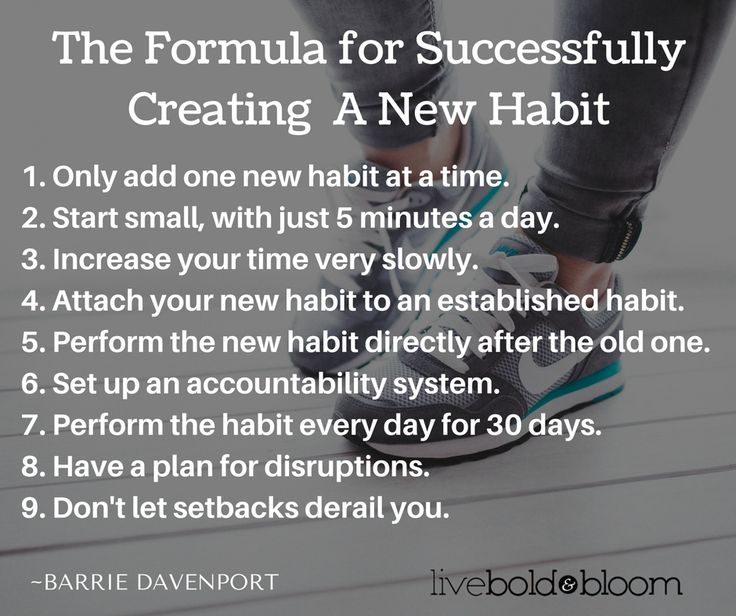 How to Make Good Habits Stick: 7 Secrets From Resear