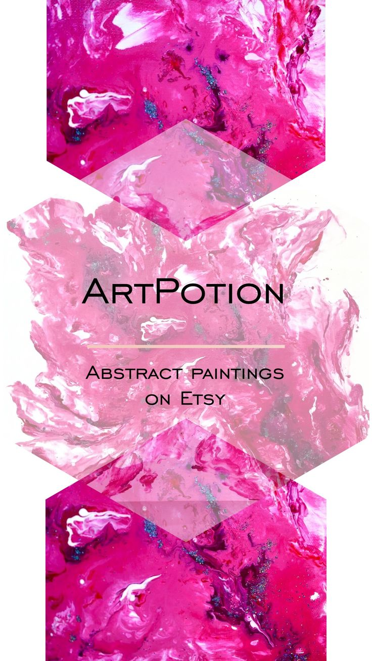 Abstract paintings by two Russian artists - Varvara & Linda. Visit our place.