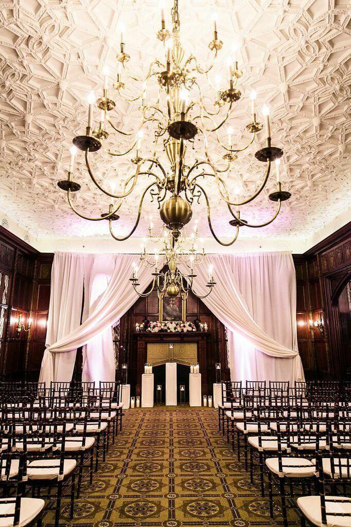 Fancy Beautiful Washington DC Wedding at The Hay Adams Hotel Wedding CeremoniesWedding