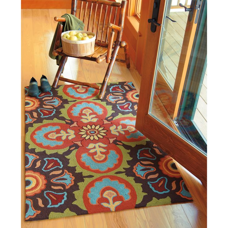 Company C Talavera Tile Chocolate Area Rug   Reviews   Wayfair. 67 best Talavera Tile in Home   Garden images on Pinterest