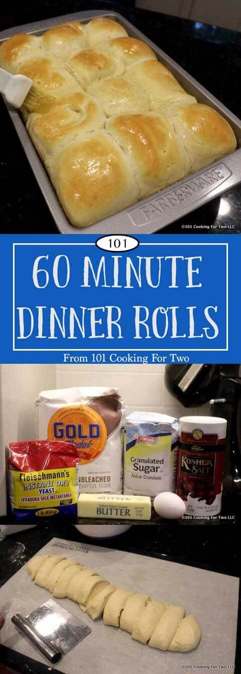 You can have the best homemade yeast dinner rolls from scratch in less than…