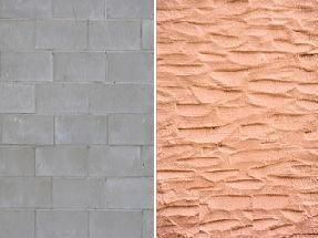25 best ideas about cinder block walls on pinterest for Concrete block stucco