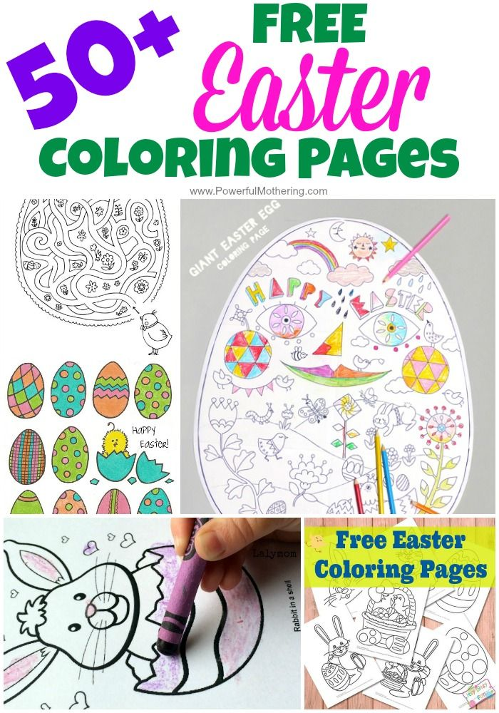 Easter Colouring Pages For Kindergarten : 211 best images about preschool easter on pinterest