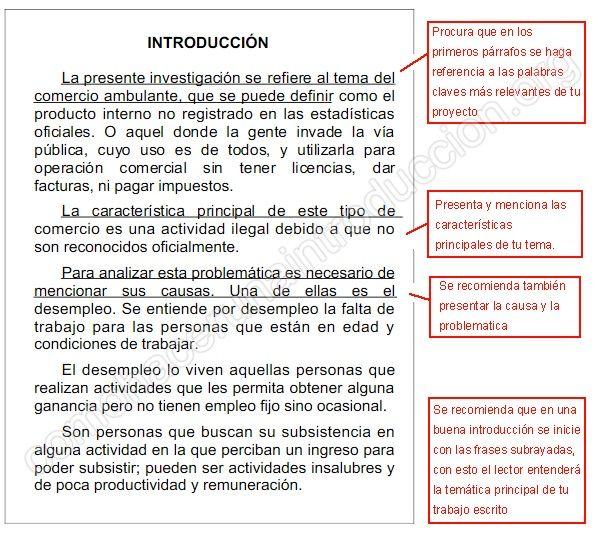 Cómo Hacer Una Introducción Como Hacer Una Introduccion Texto Argumentativo Como Hacer Un Resumen