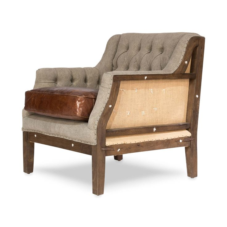 Our unique looking chair brings you an old-world mishmash of styles and charm. Leather, fabric, and wood are brought together in an incredibly charming armchair for your favorite living space. Adorn th...  Find the Stately Arm Chair, as seen in the #PerfectlyDistressed Collection at http://dotandbo.com/collections/perfectlydistressed?utm_source=pinterest&utm_medium=organic&db_sku=105014