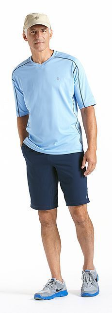 17 best images about coolibar men 39 s sun protection for Sun protection t shirts