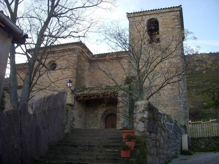 Iglesia de la Asunción de la Virgen, Otano, Navarra, Camino Aragonés