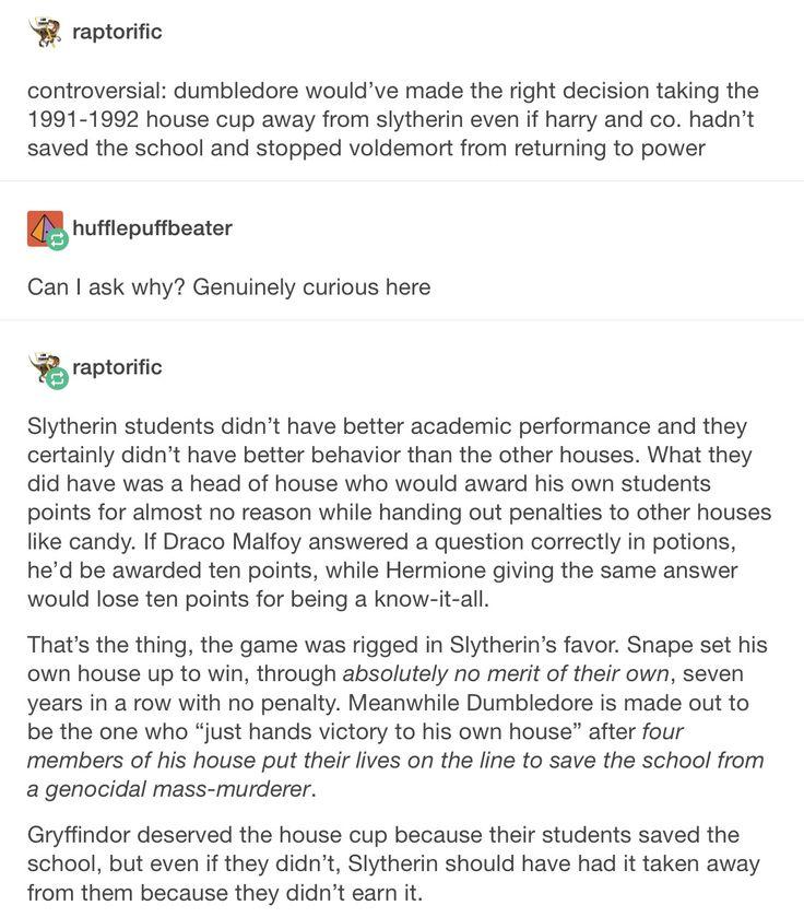 The House Cup part 1/2 // Severus snape, albus Dumbledore, Harry Potter, hp