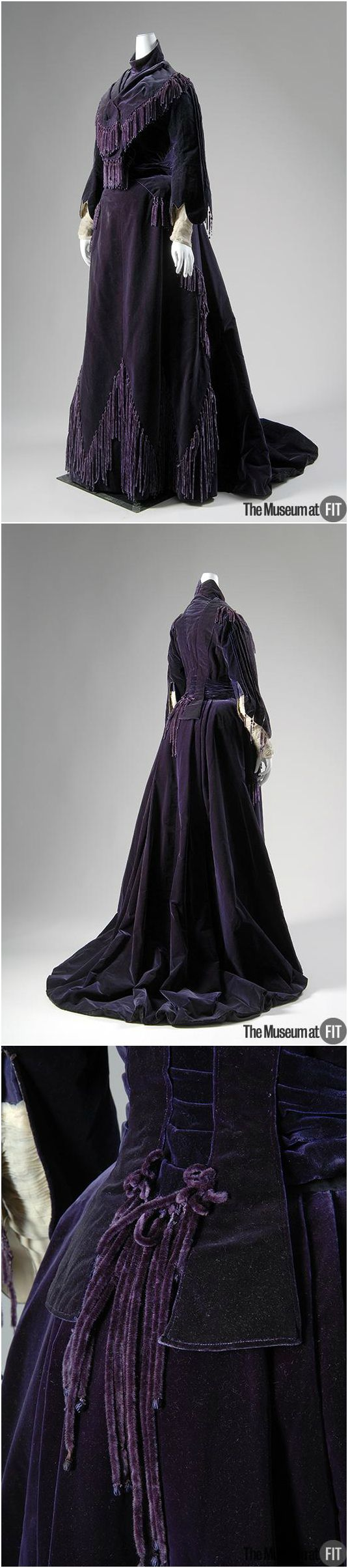 Afternoon dress, by the House of Worth, 1903, The Museum at FIT. See: http://fashionmuseum.fitnyc.edu/view/objects/asitem/760/32/dynasty-desc?t:state:flow=1c4c7399-8576-4b87-8f66-e8e6bcd47c13