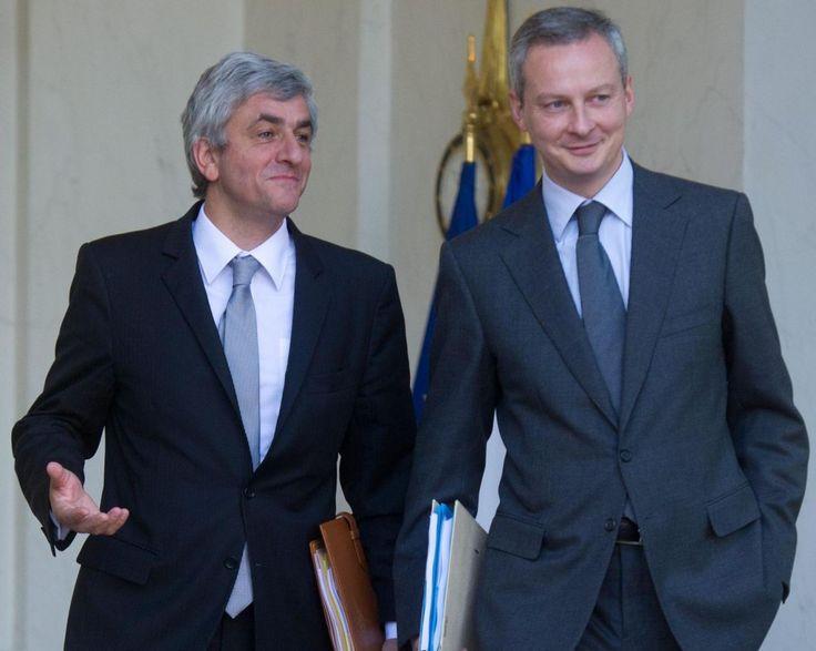 Primaire à droite Hervé Morin choisit Bruno Le Maire - Le Parisien